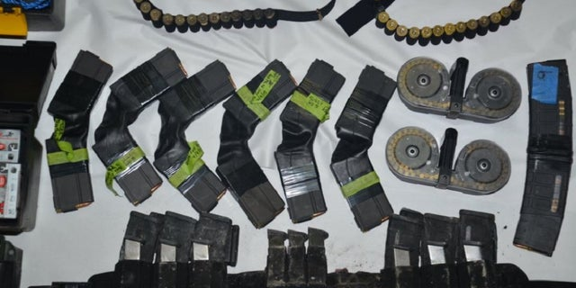 Santa Clara authorities released images of weapons found in Samuel Cassidy's home.