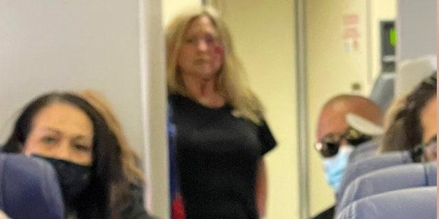Disturbance on Southwest Airlines Flight 700 at the San Diego International Airport.