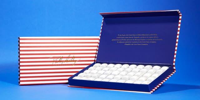 Phillip Ashley Chocolates propose une collection de bonbons plutôt patriotique qui sortira en juillet. (Phillip Ashley LLC)