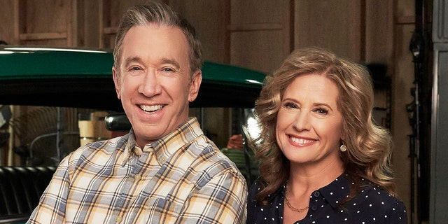 Tim Allen and Nancy Travis of 'Last Man Standing.' (Photo by FOX via Getty Images)