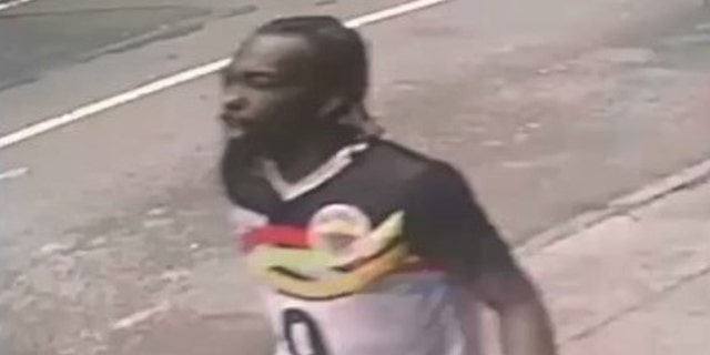The New York Police Department released this photo of a person of interest in May 8 shooting in Times Square.