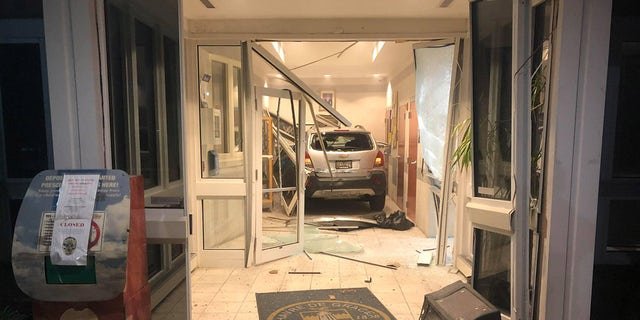 Kahl tried to attack officers after crashing his vehicle into the Havre de Grace Police Departmenton Sunday night, authorities said.