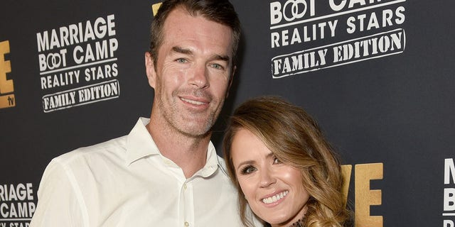 Ryan Sutter works as a firefighter near Vail. Colo. (Photo by Presley Ann/Getty Images for WE tv )