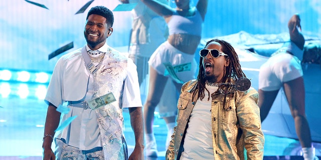Usher and Lil Jon performed