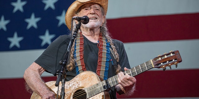 Willie Nelson briefly served in the Air Force. (Photo by Rick Kern/WireImage for Shock Ink)