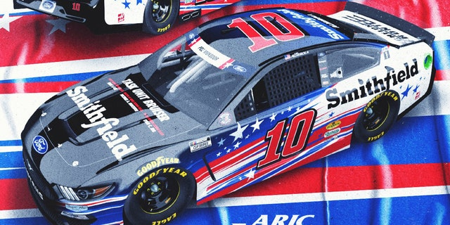 Aric Almirola's car will feature Navy SEAL Michael Monsoor's name during the Coca-Cola 600