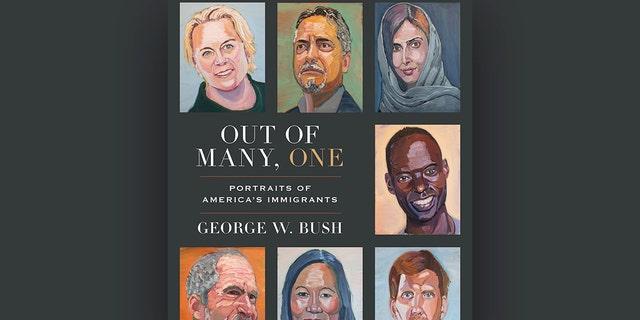 """Livre du président George W. Bush """"Parmi les nombreux, un: des photographies d'immigrants en Amérique"""""""