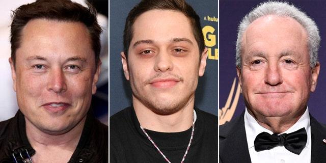 Elon Musk dines with Pete Davidson, Lorne Michaels ahead of 'SNL' hosting debut: report.jpg
