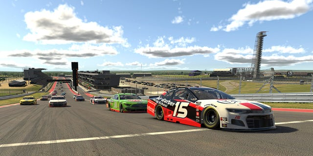 An eNASCAR iRacing Pro Invitational Series race was held on a virtual Circuit of The Americas on May 19.
