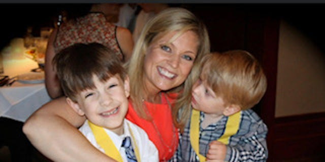 Kim toldour childrenshe would be their guardian angel, watching over them.