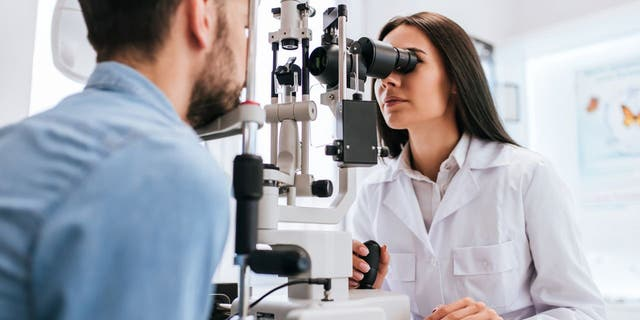In the GenSight trial, an unnamed 58-year-old Frenchman received the optogenetic injection in one eye and was trained to use the goggles. (iStock)