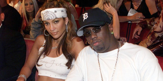 Puff Daddy and Jennifer Lopez were both arrested for criminal possession of a weapon and possession of stolen property in 1999. (Photo by Kevin Mazur Archive 1/WireImage)
