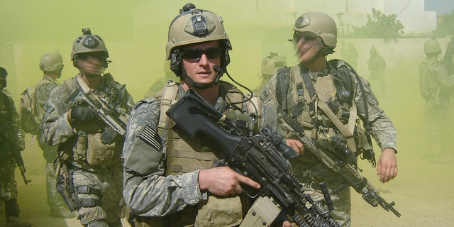 Petty Officer Michael Monsoor was killed during Operation Iraqi Freedom in 2006.
