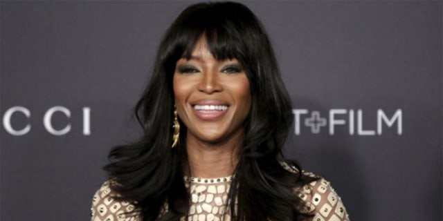 Naomi Campbell is officially a mother of one, the model announced Tuesday on social media.