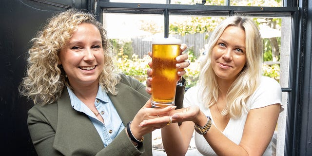 The Packhorse pub in England auctioned off the first beer poured inside the premises for over a year.