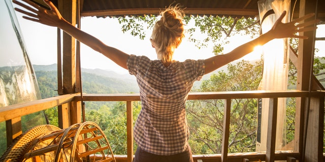 According to Airbnb, people are looking for 'off-the-beaten path locations,' like treehouses and tiny homes.