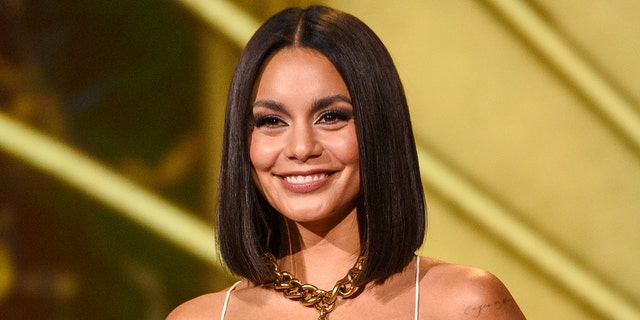Vanessa Hudgens hit the mountains for a hike in an atypical outfit.