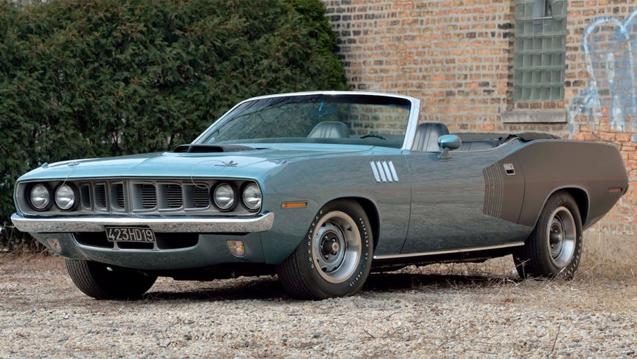 Rare 1971 Plymouth Hemi 'Cuda Convertible up for auction