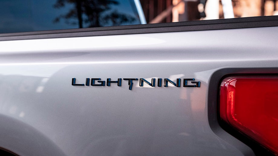 Electric Ford F-150 named Lightning