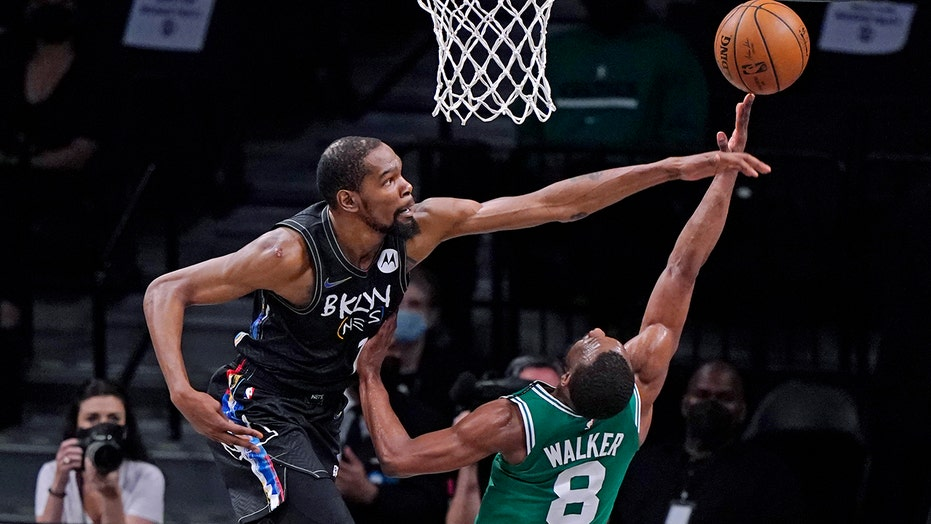 Nets get 7 3s from Harris, rout Celtics 130-108 for 2-0 lead