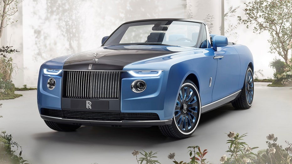 Multimillion-dollar Rolls-Royce Boat Tail is a real land yacht