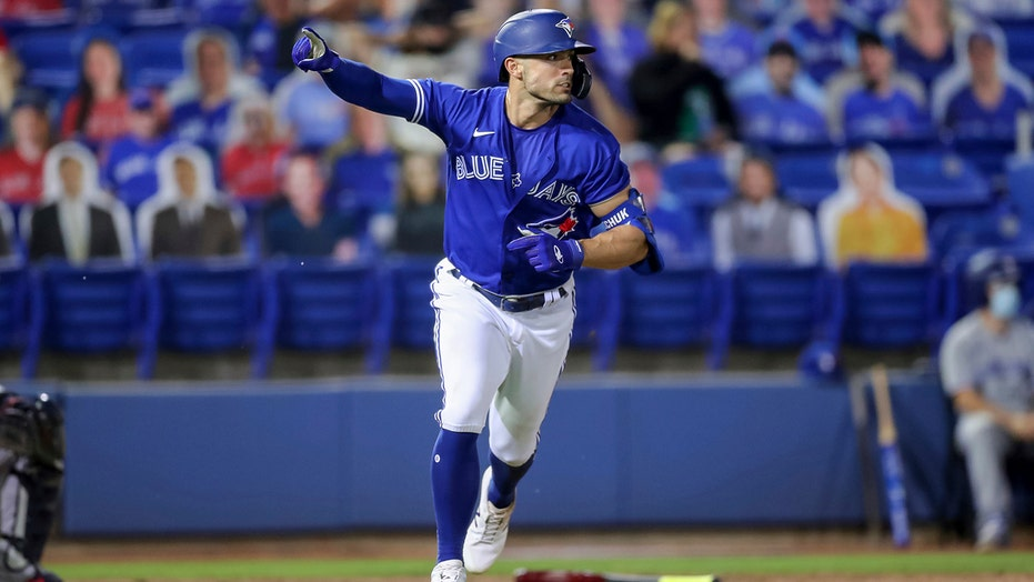 Grichuk single in 10th, Springer 2 HRs as Jays beat Braves