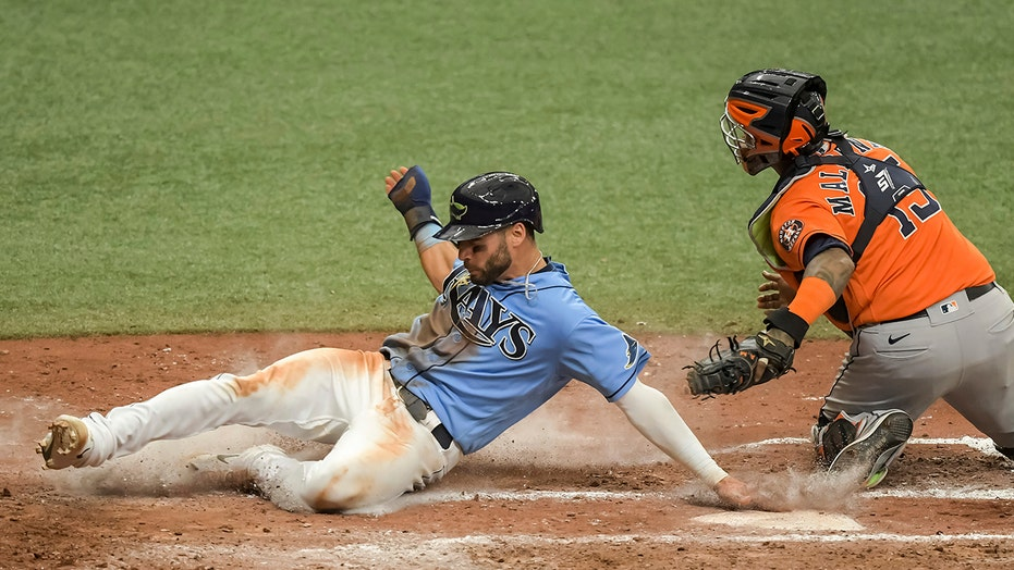 Meadows, Margot lead Rays over Astros 5-4 to avoid sweep