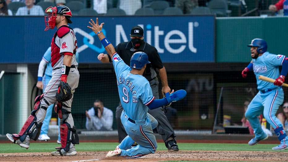 Texas Rangers rally for 5-3 victory over Boston Red Sox