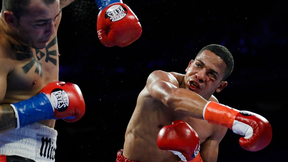 Puerto Rican boxer turns himself in after lover found dead