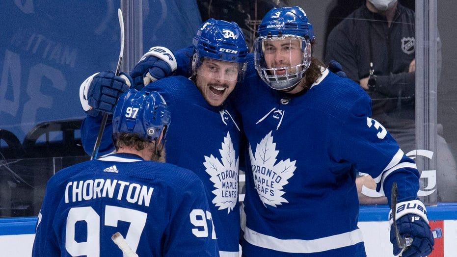 Matthews scores NHL-leading 40th goal, Leafs beat Canadiens