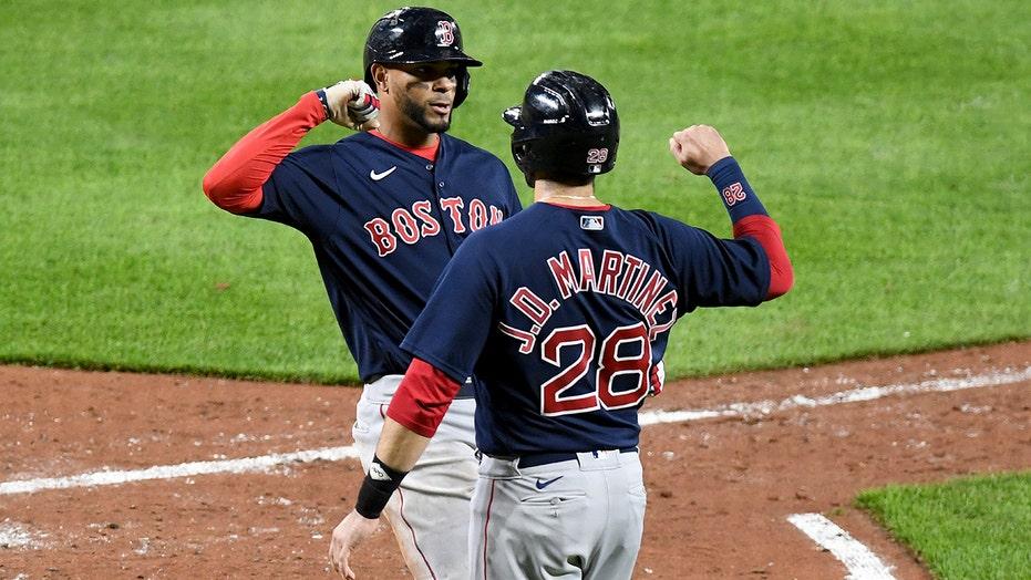 Chavis, Bogaerts hit home runs, Red Sox beat Orioles 11-6