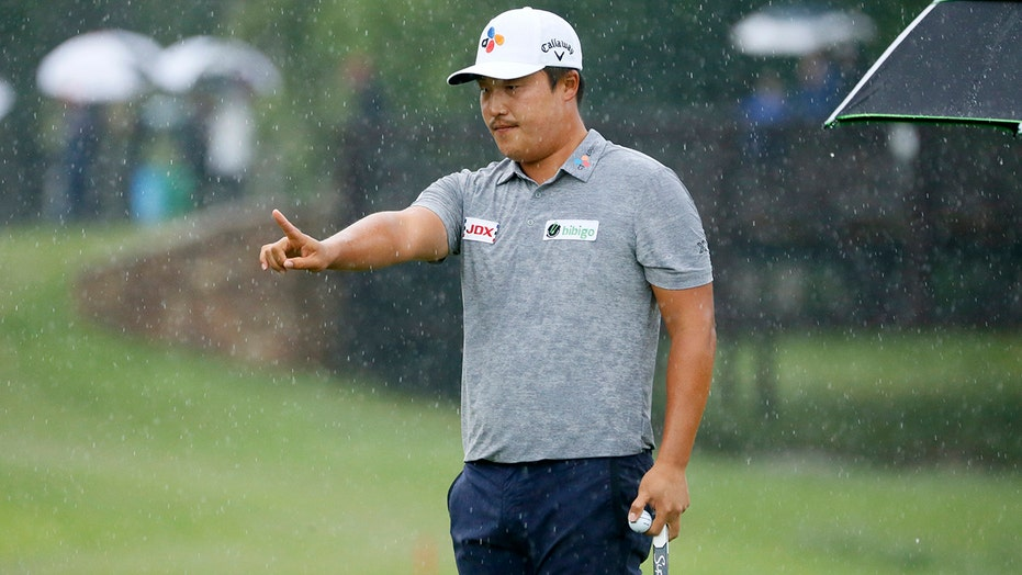 Weather halts Nelson with K.H. Lee on verge of win, PGA spot