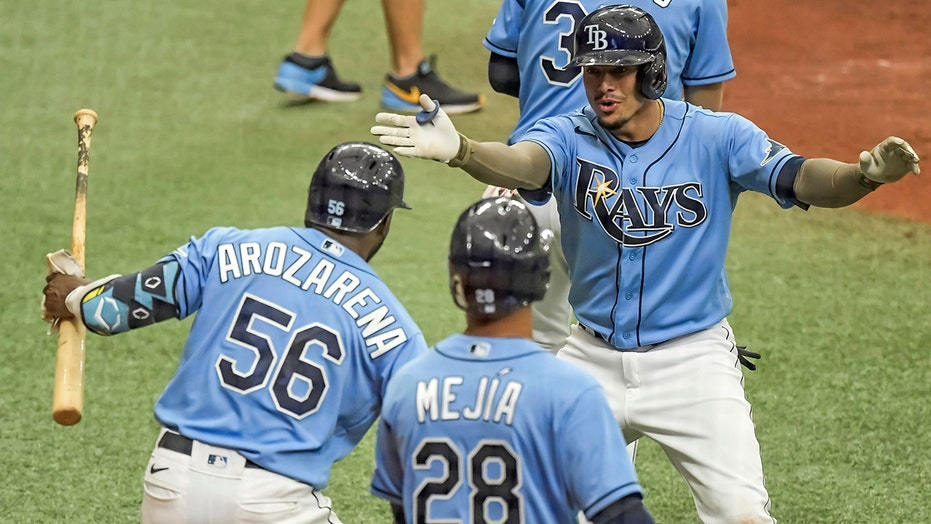 Margot, Adames, Lowe lead Rays over Mets 7-1 for sweep