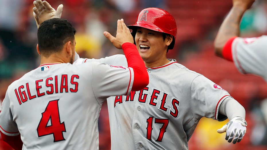 Ohtani's 2-out, 2-run HR in 9th sends Angels over Bosox 6-5