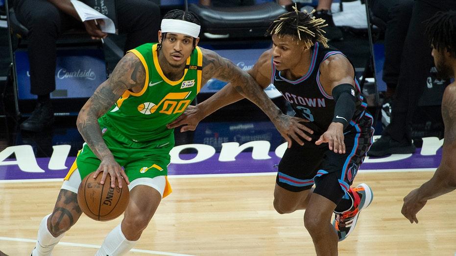 Utah's Jordan Clarkson wins NBA's 6th man of the year award