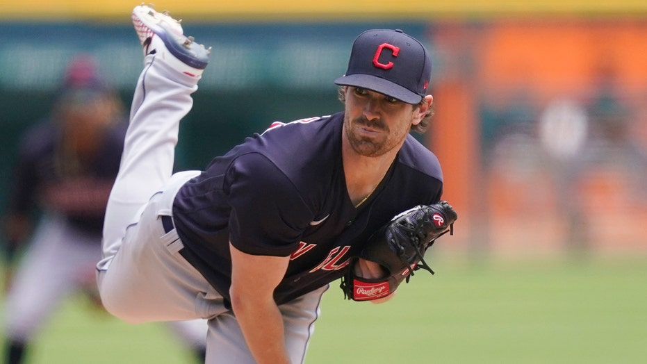 Bieber allows 1 hit in 7 局, Indians top Tigers 5-2
