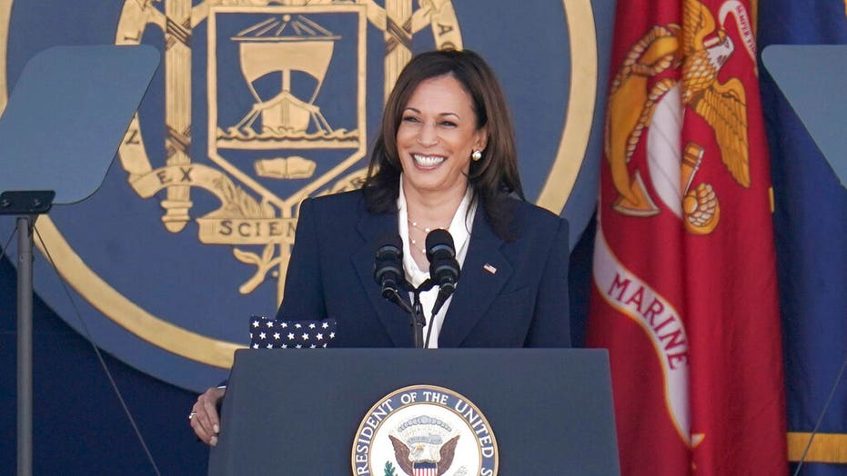 Check out Kamala Harris' Naval Academy graduation punchline: 'Just ask any Marine today…'