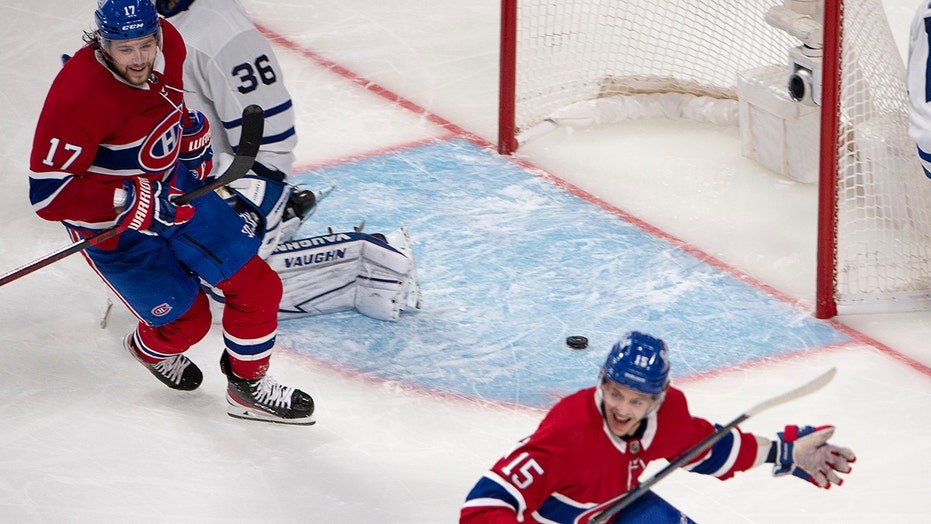 Canadiens beat Maple Leafs 3-2 in OT to force Game 7