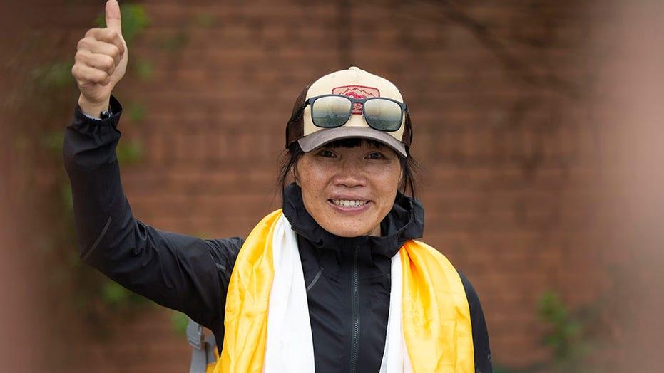 Hong Kong teacher becomes fastest woman to climb Mount Everest