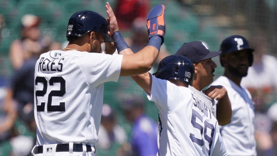Skubal leads Tigers to 6-2 win, rare sweep of Yankees