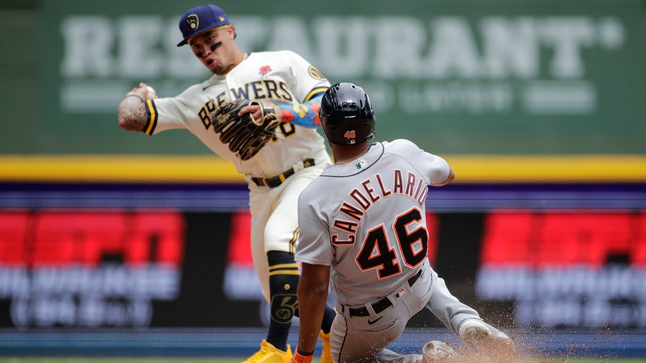 Brewers edge Tigers 3-2 nel 10 innings for 5th straight win