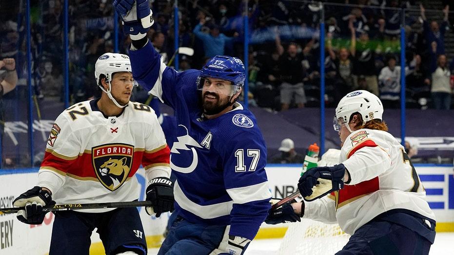 Killorn, Kucherov pace Lightning's 6-2 rout of Panthers
