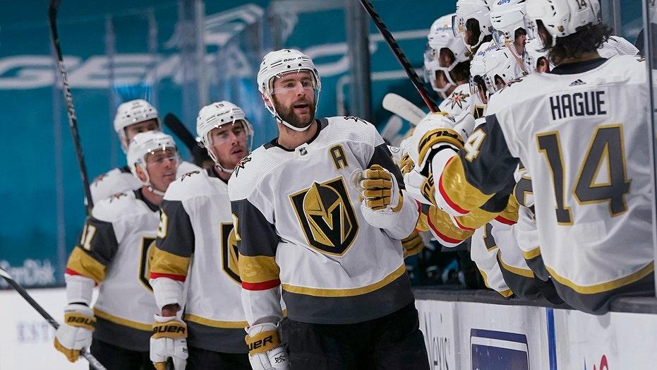 Golden Knights finish regular season with 6-0 win vs. Sharks