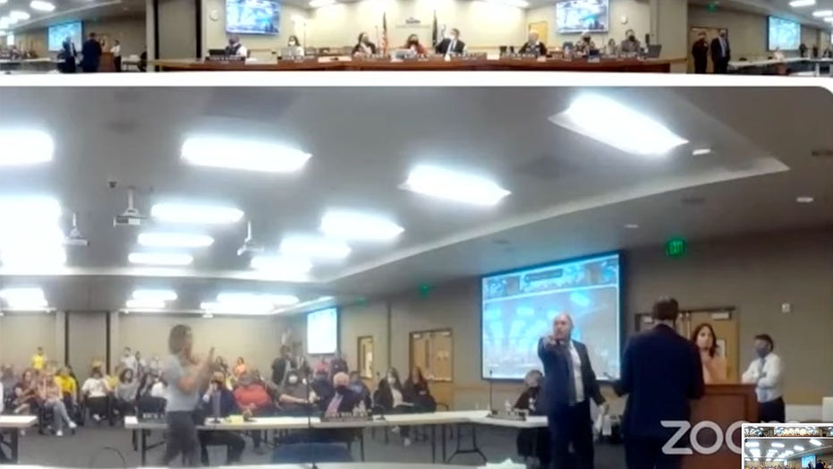 Utah anti-mask protesters who derailed school board meeting may face charges, district says