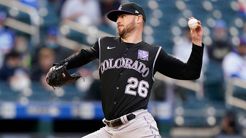 Gomber pitches Colorado over Mets 3-2, Rockies' 3rd road win