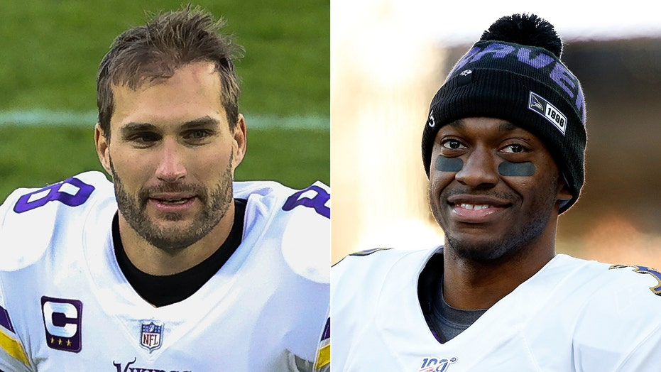 Robert Griffin III throws jab at Kirk Cousins: He's 'been collecting checks … for a long time'