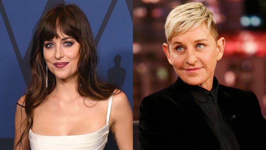 Ellen DeGeneres' show ending prompts online praise for Dakota Johnson