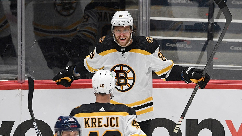 Bergeron, Pastrnak and Bruins finish off Capitals in 5 games