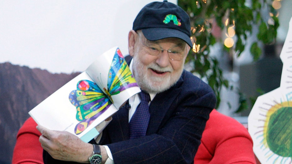 에릭 칼, children's author best known for 'The Very Hungry Caterpillar,'죽었다 91
