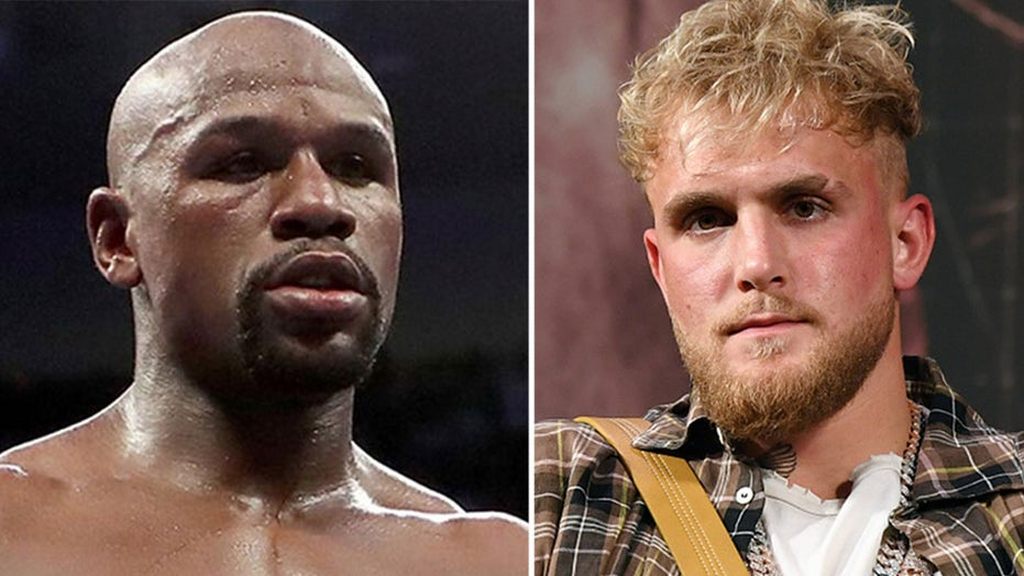 Floyd Mayweather, Jake Paul mix it up at PR event, champ shouts 'I'll kill you'